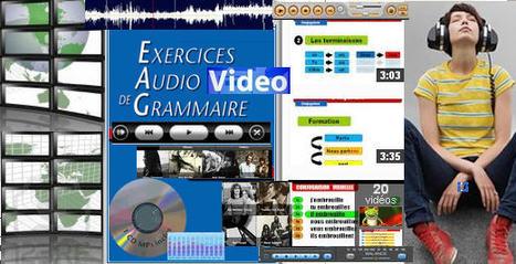 Exercices Audio Vidéo Grammaire: Manuels et Méthodes   LA PAUSE   Scoop.it