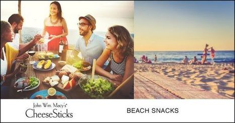 Cheesesticks :: Great Summer Snack Ideas for the Beach | Gourmet Snacks | Scoop.it
