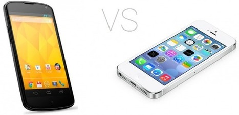 Android 4.2 vs iOS 7 | Android News Italia | Scoop.it