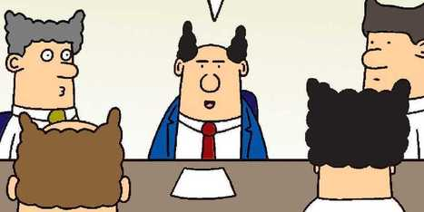 The 10 Best Pointy-Haired Boss Moments From 'Dilbert' | management and leadership | Scoop.it