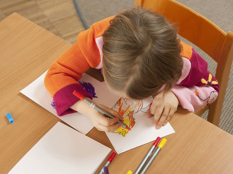 Toddlers who can draw at four 'are more likely to grow up to be clever' | MA DTCE | Scoop.it