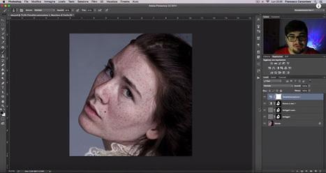 Come enfatizzare le lentiggini con Photoshop - Tutorial   Social Media Consultant 2012   Scoop.it