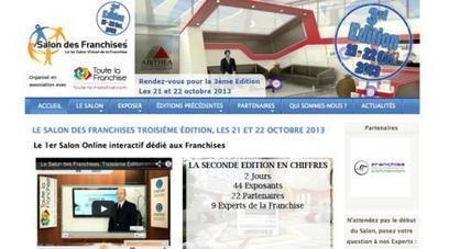Salon virtuel des Franchises : rendez-vous en octobre pour la 3e édition | COURRIER CADRES.COM | Salon virtuel des Franchises #2 | Scoop.it