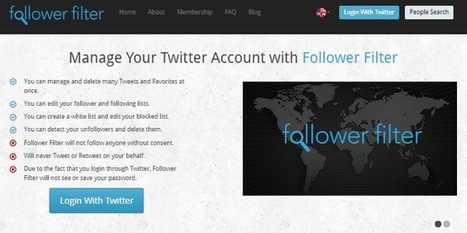 Best Free Twitter Unfollow tools - Nextweblink | technews | Scoop.it