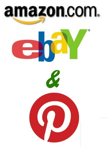 Amazon, eBay Add Pinterest Buttons | SocialMedia Source | Scoop.it