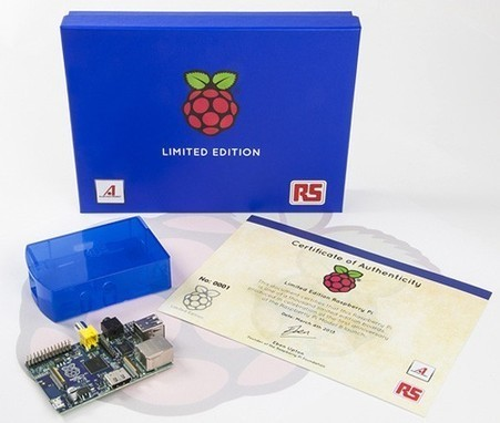 Raspberry Pi coming in limited edition blue, you\'ll have to win it to own it | Raspberry Pi | Scoop.it