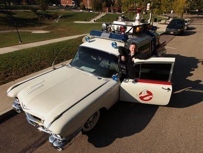 'Ghostbusters' fan recreates Ecto-1 car - Marshfield News-Herald | Asghar Ali | Scoop.it