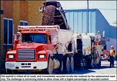 Asphalt recycling pulls material from roads and roofs - American Recycler Newspaper   Earth Citizens Perspective   Scoop.it