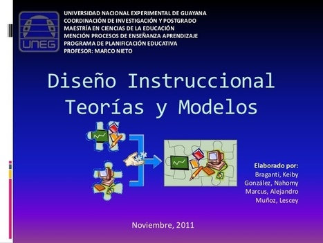 Diseño instruccional teorías y modelos | Didaktika | Scoop.it