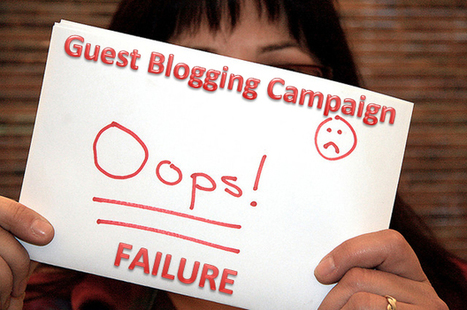 3 Silliest Guest Blogging Mistakes   All Stuff Codes - SEO, Blogging, Social Media   Scoop.it