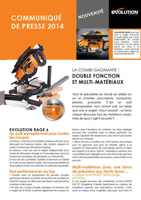 Malice Communication - Salle de presse - Evolution RAGE 6 - La combi gagnante : Double Fonction et Multi-Matériaux | Evolution RAGE 6 - La combi gagnante : Double Fonction et Multi-Matériaux | Scoop.it