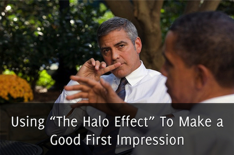 "Using ""The Halo Effect"" To Make a Good First Impression - Self Stairway 