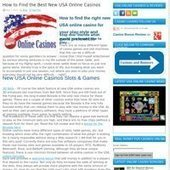 New USA Online Casinos | How to Find the Best Online Casino for the US | Clipboard | Entertainment on mobile | Scoop.it