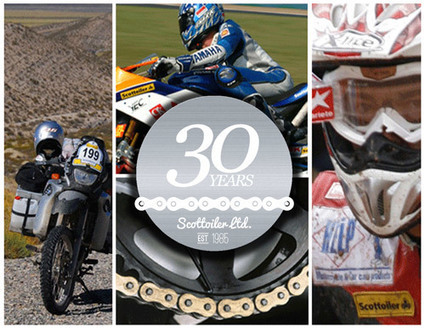 Motorcycle chain oiler manufacturer Scottoiler is gearing up to celebrate its 30th anniversary | Motorcycle Industry News | Scoop.it