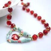 How to Make Heart Pendant Necklace - DIY Heart Necklace Idea | fine diy jewelry | Scoop.it