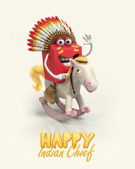 McDonald's Launches New Whacky 'Happy Meal' Characters
