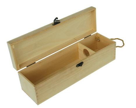 Wooden Wine Box | Wooden box | Scoop.it