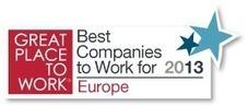 100 Meilleures entreprises en Europe - Great Place to Work® en France | Entreprises ou métiers qui recrutent | Scoop.it