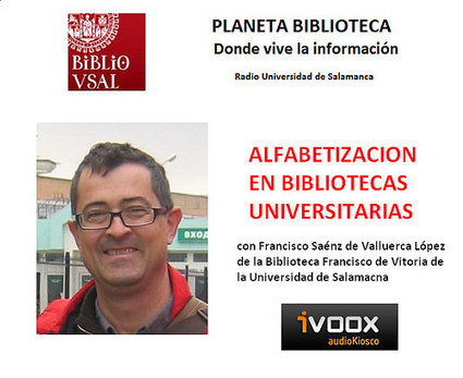 "Alfabetización Informacional en Bibliotecas Universitarias. Planeta Biblioteca 2014/11/19 | Universo Abierto | ""alfabetización informacional"" | Scoop.it"