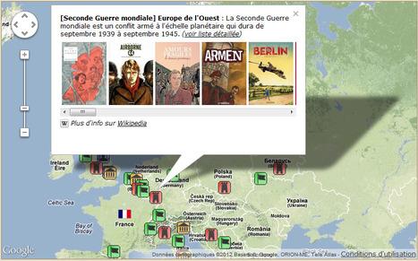 Découvrir le monde de la BD par une Carte Histoire-Géo interactive   694028   Scoop.it