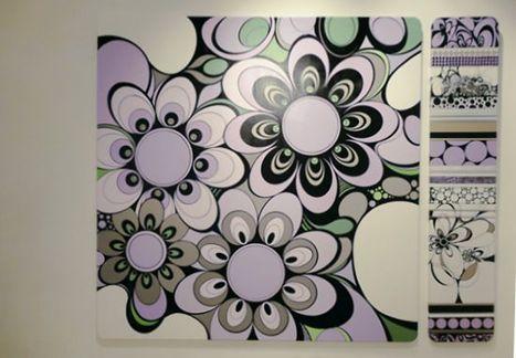 'Ornamento y delito', pinturas de Genoveva Fernández - Arte en la Red | ELSI DEL RIO Arte Contemporáneo | Scoop.it