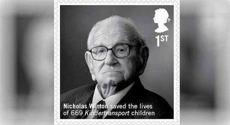 Britain issues stamp for Sir Nicholas Winton   Prague by Czech Mates   Scoop.it