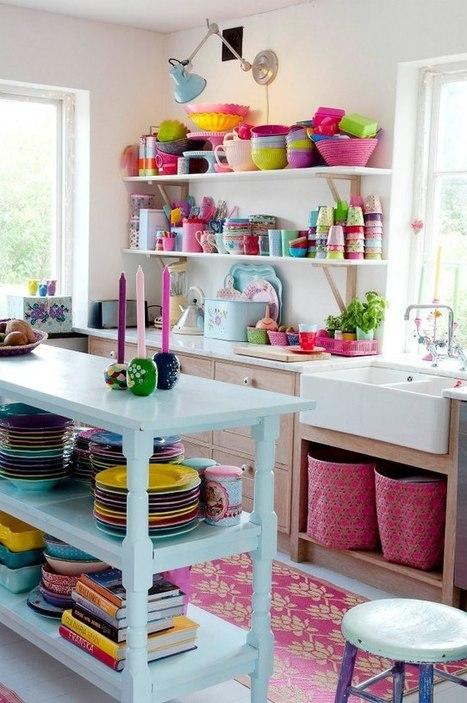 Une maison scandinave colorée et pleine de de charme | | Immobilier | Scoop.it