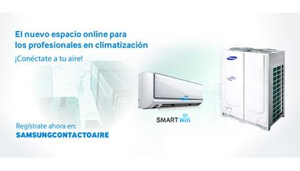 Samsung Contacto Aire, nueva web para los profesionales de la climatización   climatizacion   Scoop.it