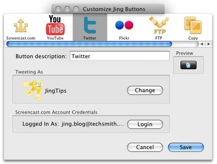The Twitter Button | Internet Tools for Language Learning | Scoop.it