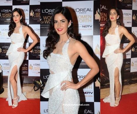Katrina Kaif at L'Oreal Paris Women of Worth Awards   Indian Fashion Updates   Scoop.it