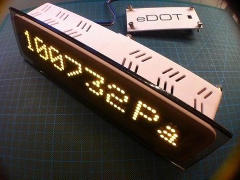 eDOT – Arduino Based Precision Clock and Weather Station #ArduinoMonday | Raspberry Pi | Scoop.it