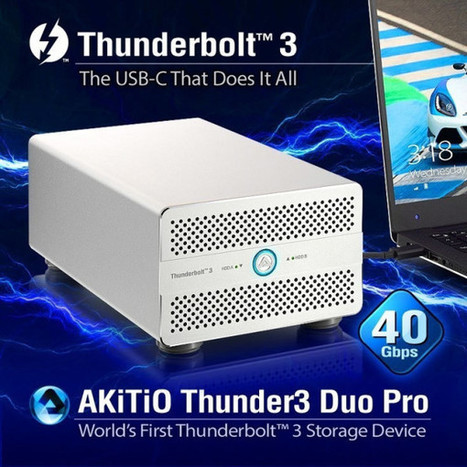 World's First Thunderbolt 3 RAID • nonlinear post | postproduction | Scoop.it