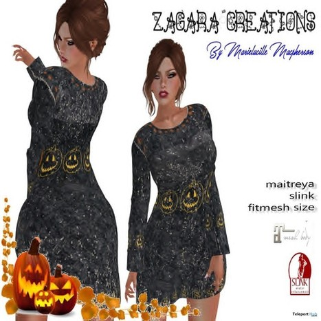 Halloween Sweater Group Gift by Zagara Creations | Teleport Hub - Second Life Freebies | Second Life Freebies | Scoop.it