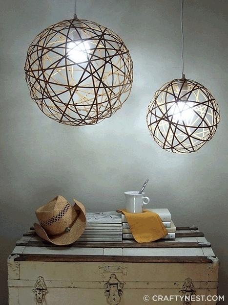 10 ý tưởng thiết kế đèn chiếu sáng bạn có thể tự làm | Tạo dựng không gian đẹp | Scoop.it