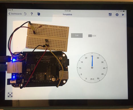 Using a tablet to control a BeagleBone Black with LabVIEW | Raspberry Pi | Scoop.it