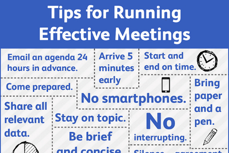 How to Have and Run an Effective Meeting - BrandonGaille.com | Small Business and Social Media | Scoop.it