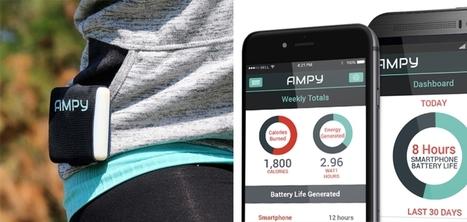 AMPY : l'appareil qui recharge votre smartphone grâce à votre exercice quotidien | SerenDeep | Scoop.it