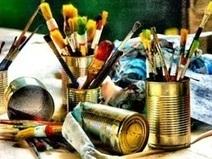Madame Zaza & Co | Class 8 Recyclable Art | Scoop.it