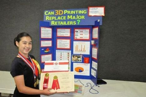 Can 3D printing replace major retailers? This maker's 7th grade daughter thinks so | 3D Printing and Fabbing | Scoop.it