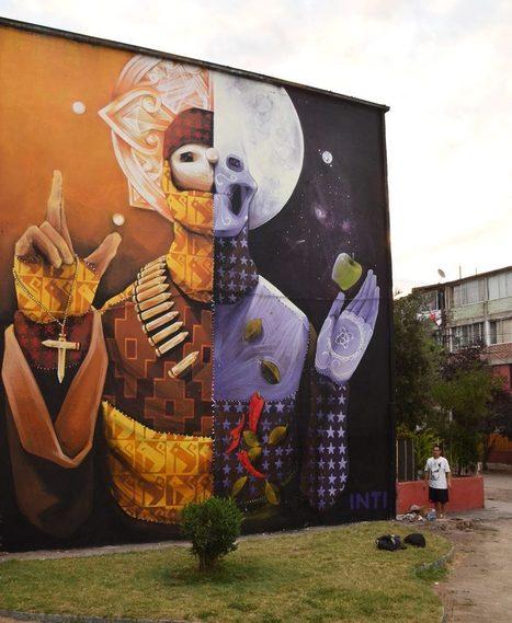 86 fotos que muestran lo mejor de Street Art Utopia 2013 - Plataforma Arquitectura | Art-Arte-Cultura | Scoop.it