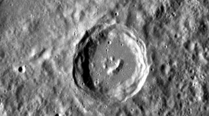 """Boas Notícias - Em Mercúrio há uma cratera que """"sorri""""   Dude WTF?   Scoop.it"""