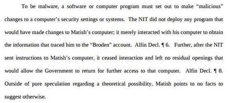 According to the FBI, malware that steals information but doesn't modify your computer isn't actually malware | Tweet from @josephfcox | Hacking Wisdom | Scoop.it