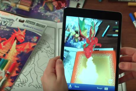 Les livres de coloriage ont aussi droit à la réalité augmentée | Culture : le numérique rend bête, sauf si... | Scoop.it