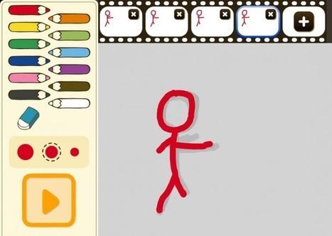 Una aplicación para crear animaciones dibujando | Educacion, ecologia y TIC | Scoop.it