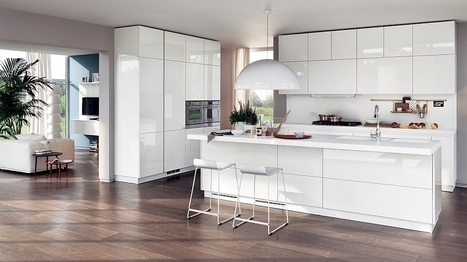 20 Contemporary Compositions That Unite The Living Room And Kitchen | Interioraholic | Scoop.it