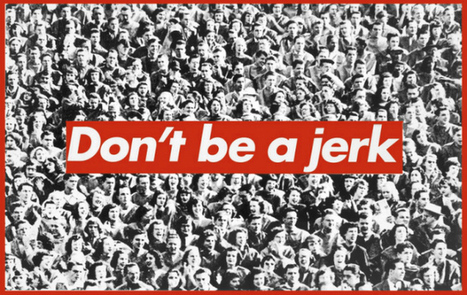 Totally Uncool Jokers: Barbara Kruger's Conceptual Comeback to ... | art in facts or artifacts | Scoop.it