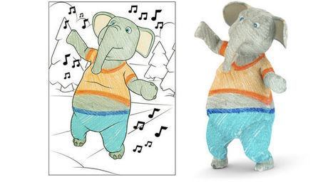 Disney Has Invented 3D Coloring Books | Apps in Education | Scoop.it
