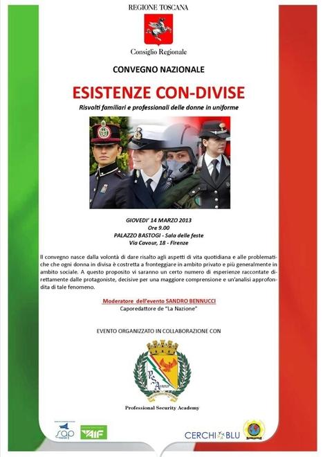 Le donne con la divisa un convegno a Firenze - Firenze - Repubblica.it | CERCHIOBLU | Scoop.it