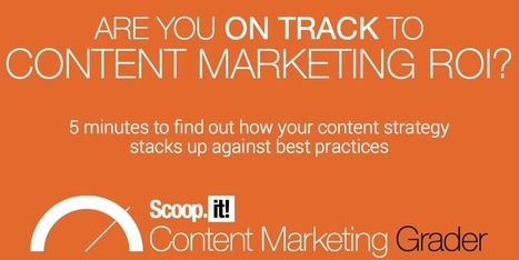 On track for Content Marketing ROI? Take the 5' test | Content Marketing, Curation, Social Media & SEO | Scoop.it