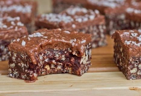 No Bake Peanut Butter Chocolate Crispies with PB 'Fudge' — Oh She Glows | lovemefood | Scoop.it